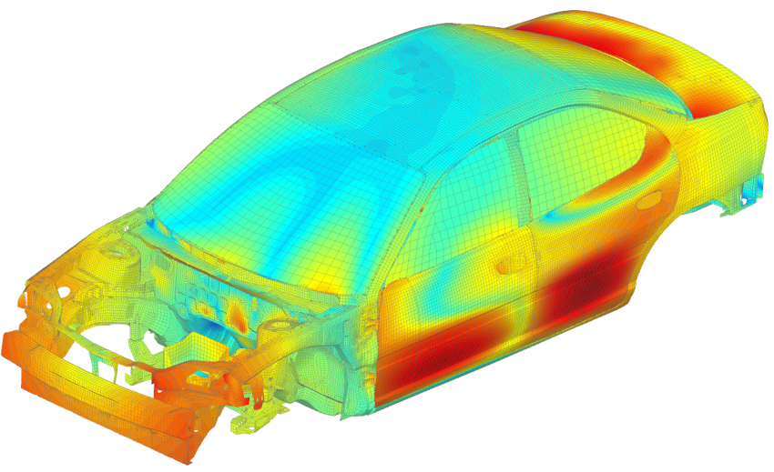 Automotive Noise Optimization with Simulation Software