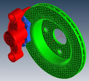 brake squeal simulation with multidisciplinary solutions