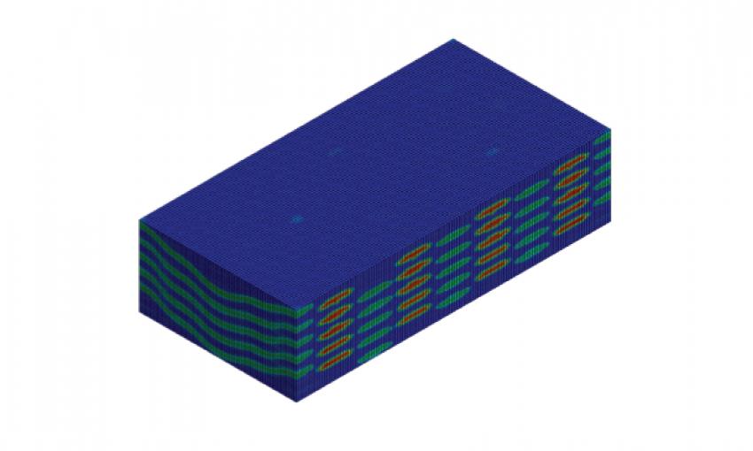 3D Woven Analysis Using Digimat