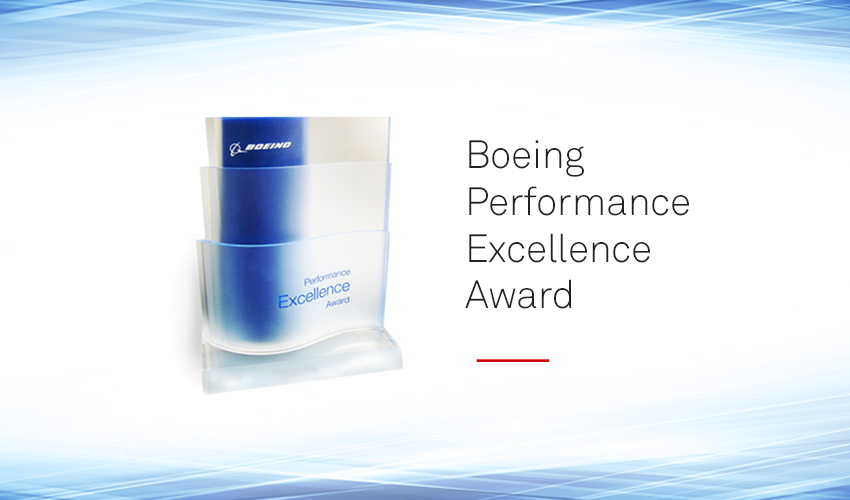 MSC Software Receives Silver Boeing Performance Excellence Award