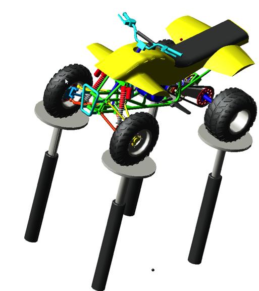 Adams Model of ATV