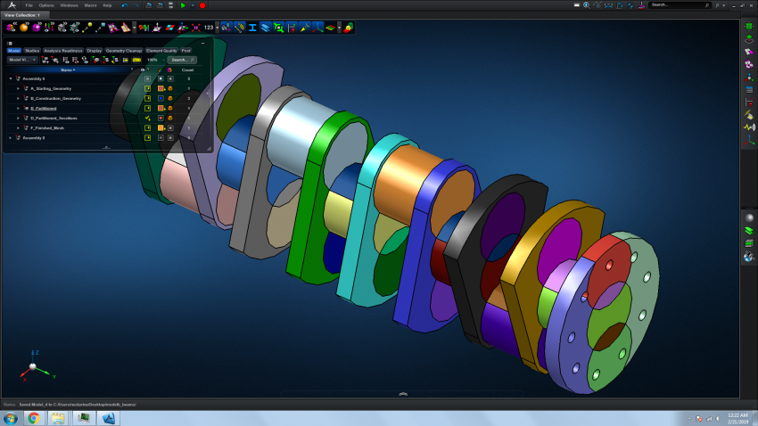 An Introduction to Hex Meshing for Finite Element Analysis (FEA) with MSC Apex