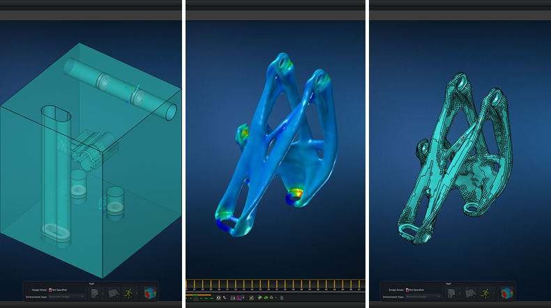 CAD to CAD: MSC Apex Generative Design new release brings fluent optimization workflow